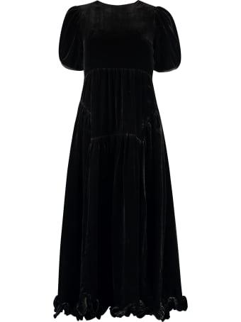 Cecilie Bahnsen Myrleen Velvet Dress