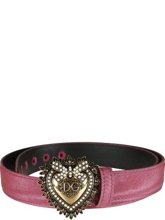Dolce & Gabbana Heart Plaque Belt