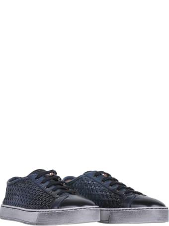 Santoni Blue Sneaker