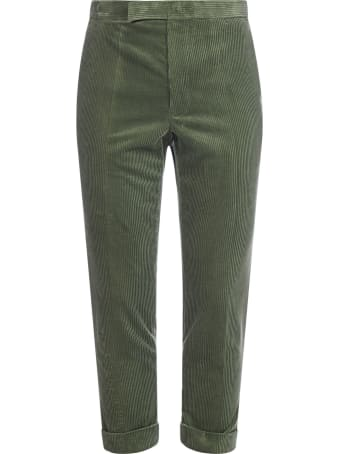 Haider Ackermann Corduroy Skinny Cropped Trousers