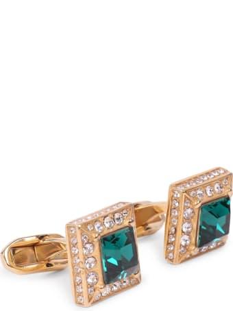 Dolce & Gabbana Green Cufflinks