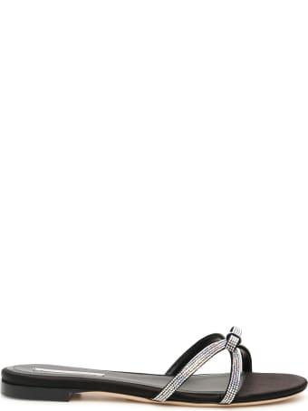 Marco de Vincenzo Crystal Sandals