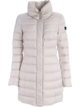 Peuterey Sobchak Down Jacket With High Neck Beige Color