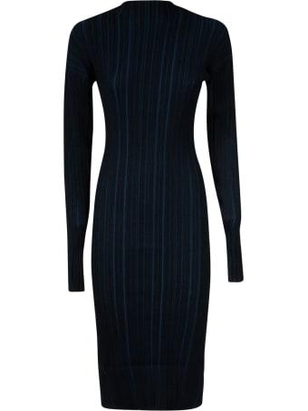 Acne Studios Ribbed Long-sleeved Dress