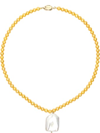 Timeless Pearly Pearl Necklace With Pendant