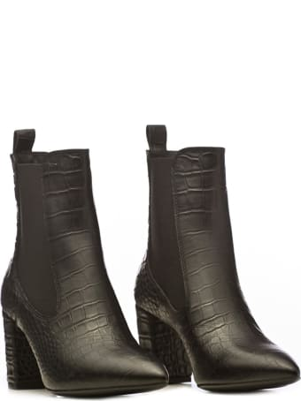 Janet & Janet Janet&janet Mock-croc Ankle Boots