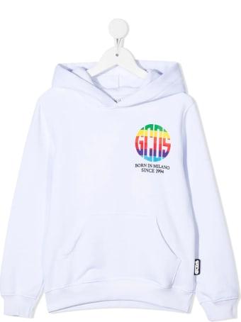 GCDS Mini Logo Print Hoodie