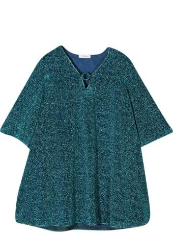 Oseree Blue Glitter Dress