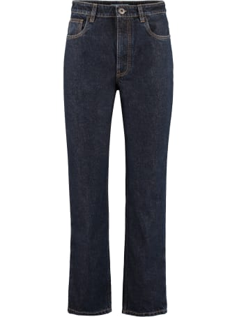 Prada 5-pocket Straight-leg Jeans