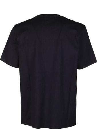 MSGM Black Cotton T-shirt