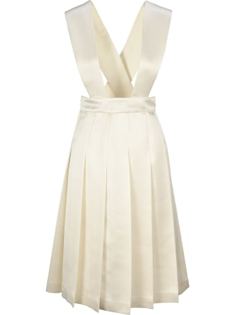 Miu Miu Pleated Dress