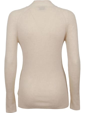 Forte_Forte Ribbed Cashmere Wool Turtleneck Sweater