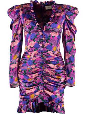 Giuseppe di Morabito Ruffled Silk Mini Dress