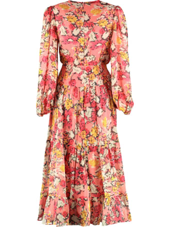 Saloni Isabel Silk Georgette Dress
