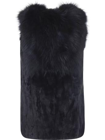 Bully Furry All-over Long Gilet