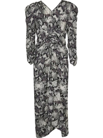 Isabel Marant Python Midi Dress