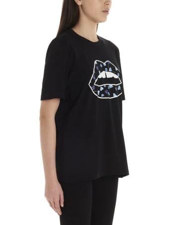 Markus Lupfer 'floaty Floral Lip' T-shirt