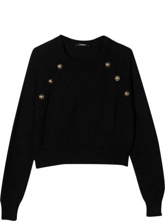 Balmain Black Shirt Teen