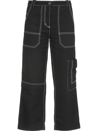 3.1 Phillip Lim Cargo Denim Trousers
