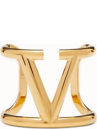 Valentino Garavani Vlogo Signature Bracelet Gold