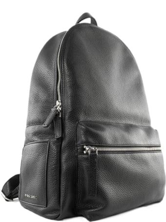 Orciani Micron Deep Black Backpack