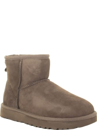 UGG Mini Classic Ii Chocolate Boots