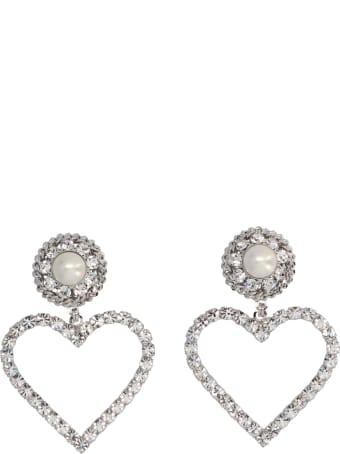 Alessandra Rich 'heart' Earrings