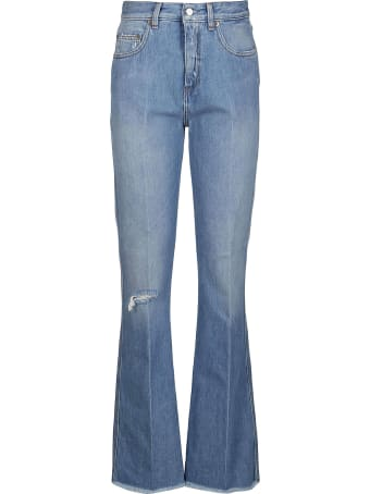 Golden Goose Light Blue Cotton Karen Jeans