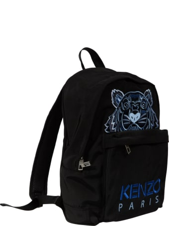 Kenzo Tiger Embroidery Backpack