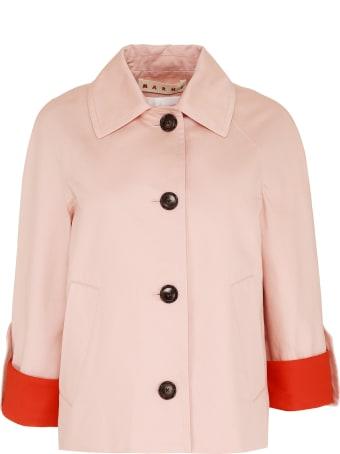 Marni Cotton-linen Blend Jacket