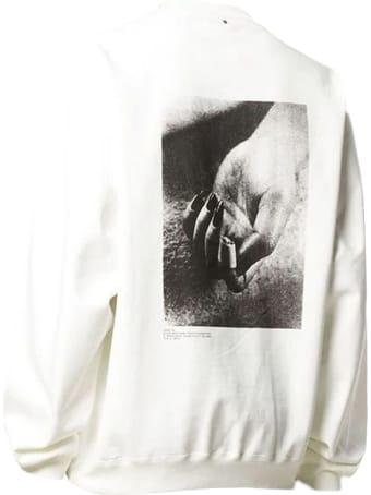 OAMC White Cotton Sweatshirt