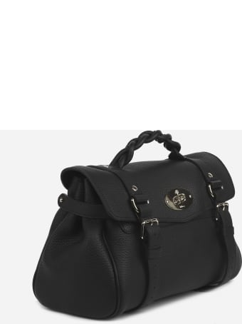 Mulberry Alexa Bag With Leather Braided Handle
