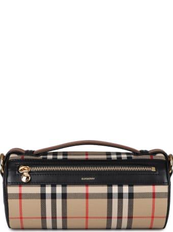Burberry Barrel Vintage Check Crossbody Bag