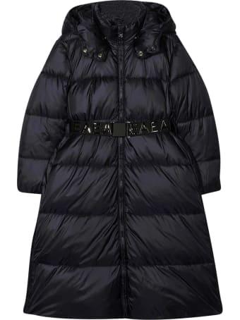 Emporio Armani Black Down Jacket Teen
