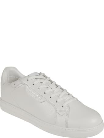 Michael Kors Keating Tumbled Leather Sneakers