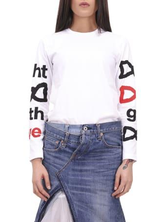 Comme Des Garçons Girl Fight With Love T-shirt