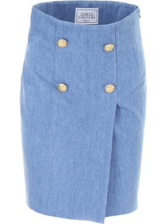 Forte Couture Denim Skirt