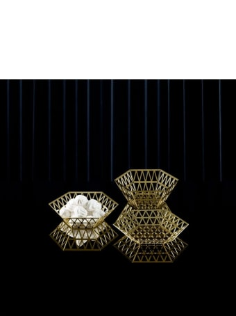 Ghidini 1961 Tip Top - Flat Tray Polished Gold