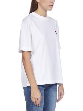 Ami Alexandre Mattiussi Short Sleeve T-Shirt