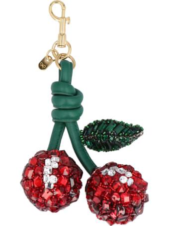 Anya Hindmarch 'cherries' Keyring