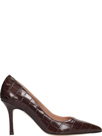 The Seller Pumps In Brown Leather