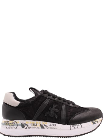 Premiata 'conny 4821' Leather Sneakers
