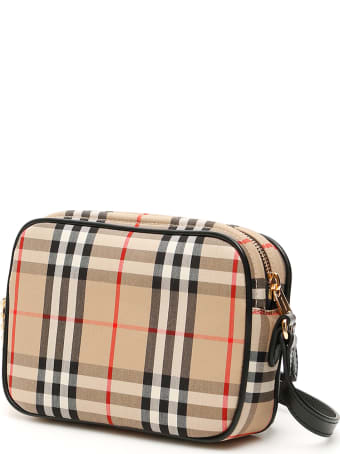 Burberry Vintage Check Hod Camera Bag