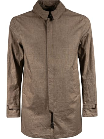 Frame Concealed Zip Jacket