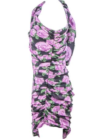Giuseppe di Morabito Floral Print Silk Dress