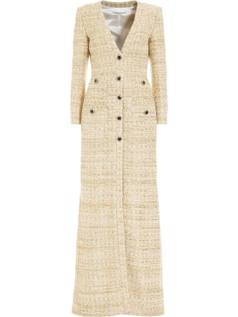 Alessandra Rich Multicolour Tweed Dress