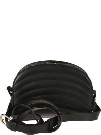 A.P.C. Sac Demi Quilted Mini Shoulder Bag