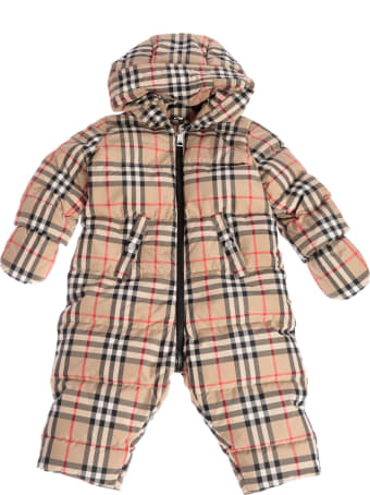 Burberry Vintage Checked Snowsuit