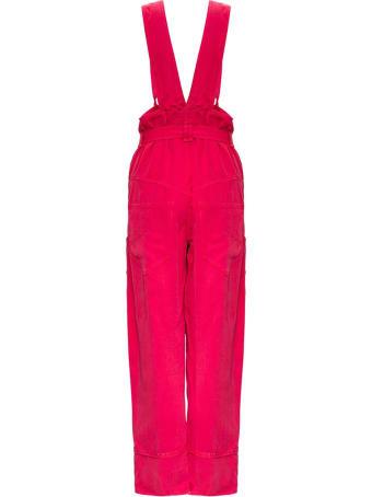 Isabel Marant Fineba Dungaree Trousers