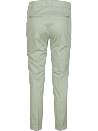Etro Mint Green Cotton Trousers